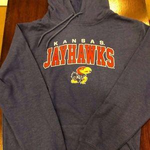 Kansas Hoodie Sweatshirt NWT XL